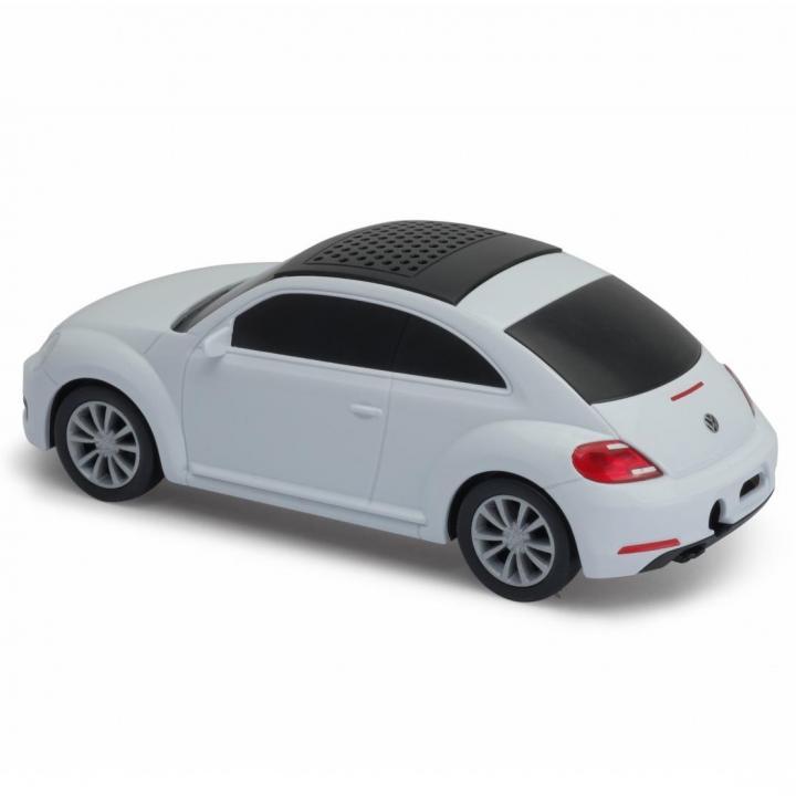 車型スピーカー Auto Speaker VW The Beetle ホワイト_0