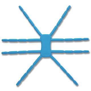 8本多関節 タブレット用マルチスタンド Breffo SpiderPodium ブルー