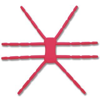 8本多関節 タブレット用マルチスタンド Breffo SpiderPodium ピンク