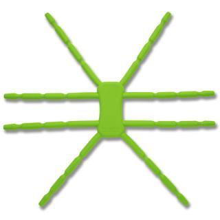 8本多関節 タブレット用マルチスタンド Breffo SpiderPodium グリーン