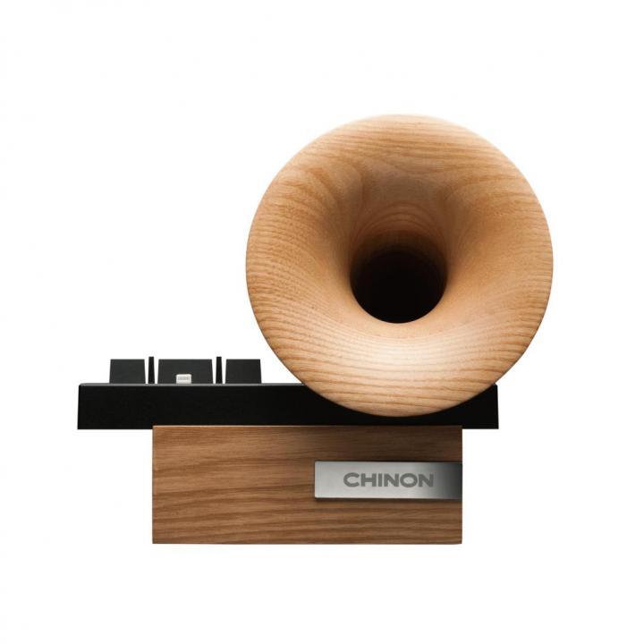 手作り木製ホーン バッシブスピーカー_0