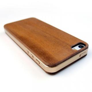 【iPhone SE/5s/5ケース】色合いが変化する iPhone SE/5s専用 天然木無垢プレート_1