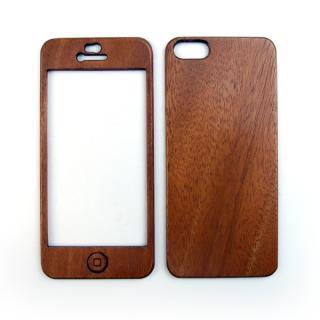 【iPhone SE/5s/5ケース】色合いが変化する iPhone SE/5s専用 天然木無垢プレート_2