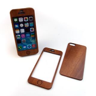 【iPhone SE/5s/5ケース】色合いが変化する iPhone SE/5s専用 天然木無垢プレート_4