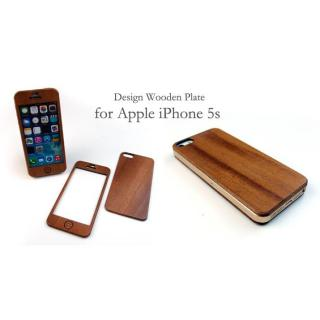 【iPhone SE/5s/5ケース】色合いが変化する iPhone SE/5s専用 天然木無垢プレート_5