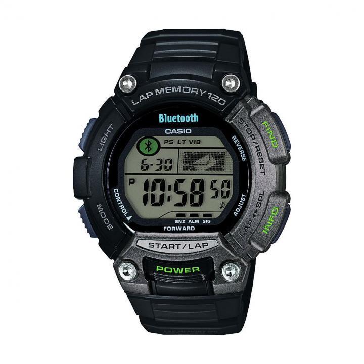 フィットネスアプリケーション連携 スポーツ時計 ブラック_0