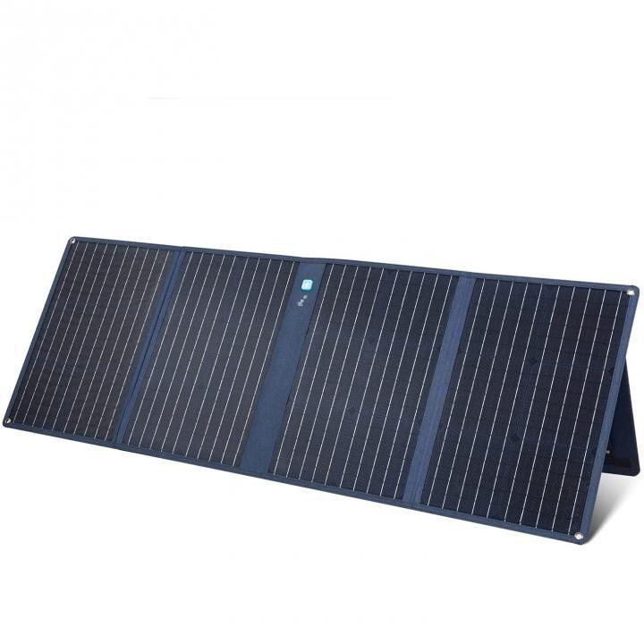 Anker PowerSolar 3-Port 100W ソーラーパネル ブラック_0