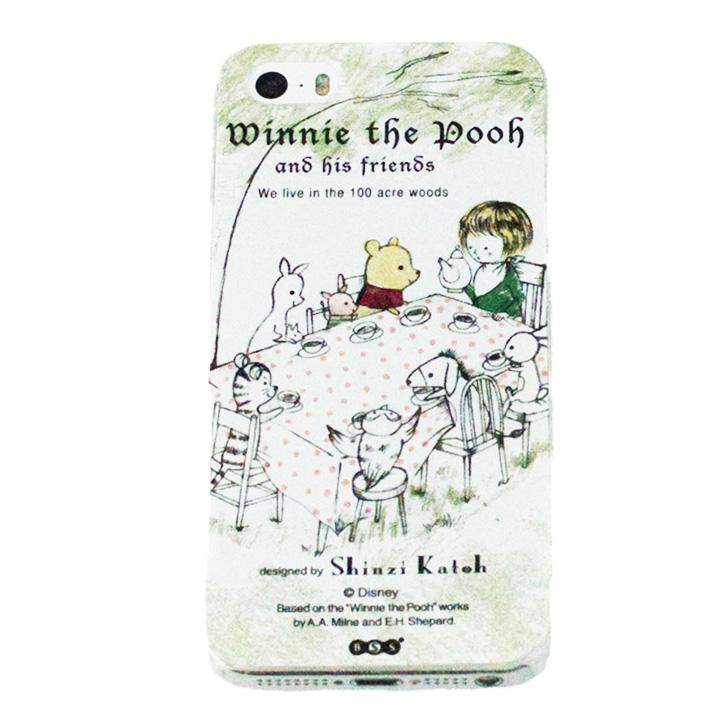 shinzi katoh × ディズニーケース くまのプーさん お茶会 iPhone SE/5s/5ケース