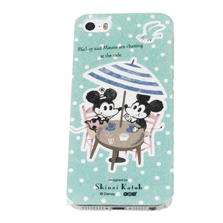 iPhone SE/5s/5 shinzi katoh × ディズニーケース ミッキー カフェ iPhone SE/5s/5ケース_0