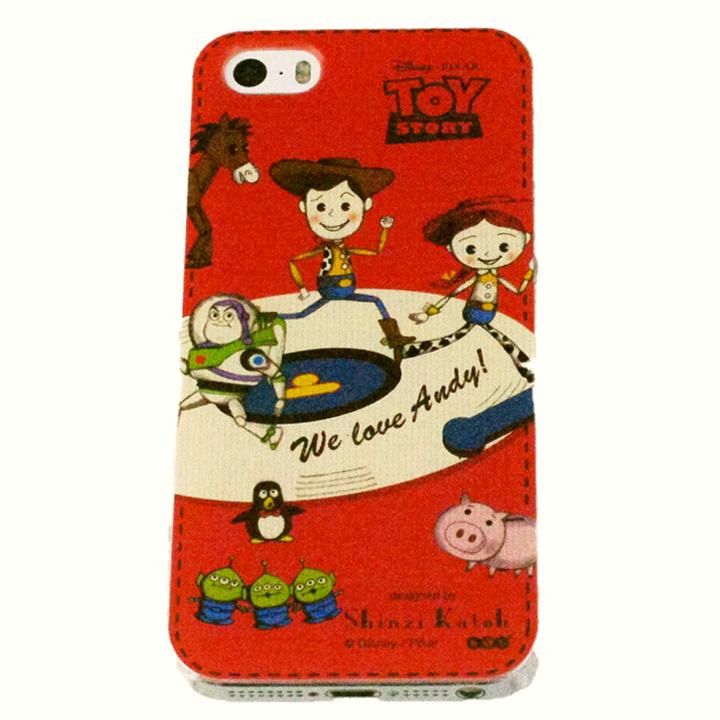 shinzi katoh × ディズニーケース トイ・ストーリー レコードプレーヤー iPhone SE/5s/5ケース