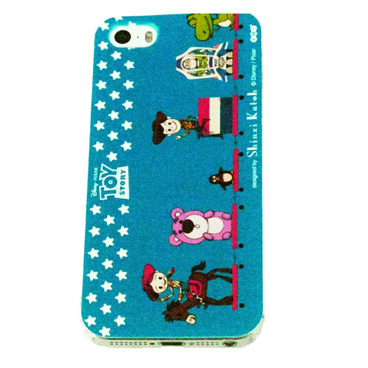 iPhone SE/5s/5 shinzi katoh × ディズニーケース トイ・ストーリー トランク iPhone SE/5s/5ケース_0