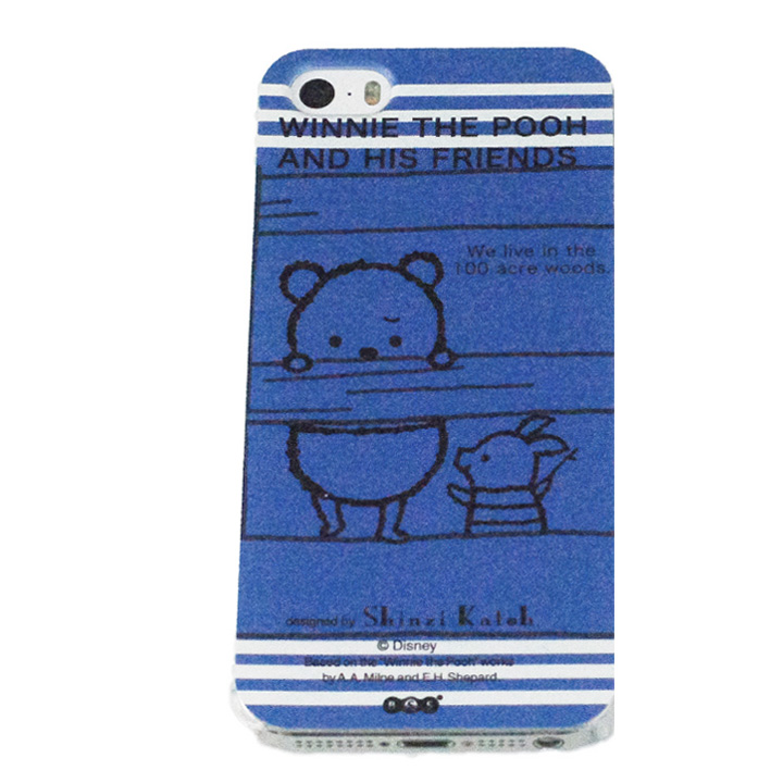 iPhone SE/5s/5 shinzi katoh × ディズニーケース くまのプーさん 橋 iPhone SE/5s/5ケース_0
