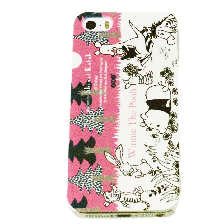 iPhone SE/5s/5 shinzi katoh × ディズニーケース くまのプーさん 森 iPhone SE/5s/5ケース_0