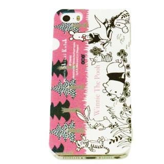 shinzi katoh × ディズニーケース くまのプーさん 森 iPhone SE/5s/5ケース
