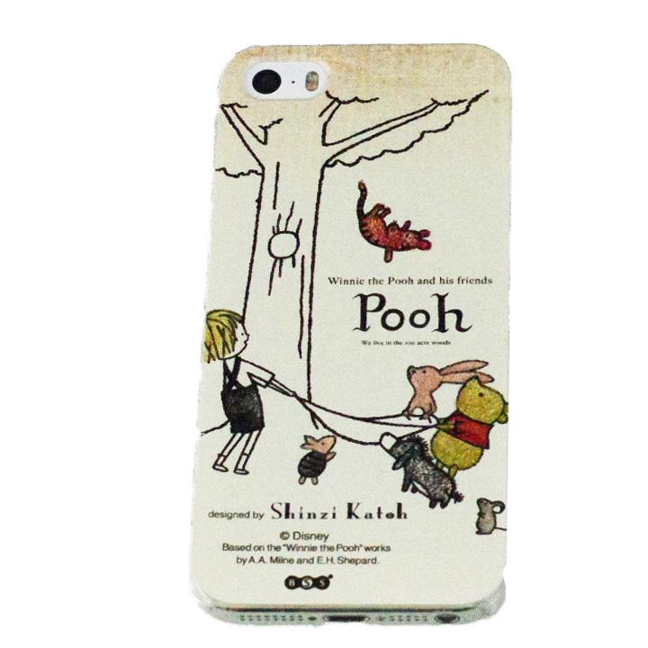 shinzi katoh × ディズニーケース くまのプーさん ヘルプ iPhone SE/5s/5ケース