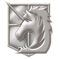 進撃の巨人 ピンズ 憲兵団