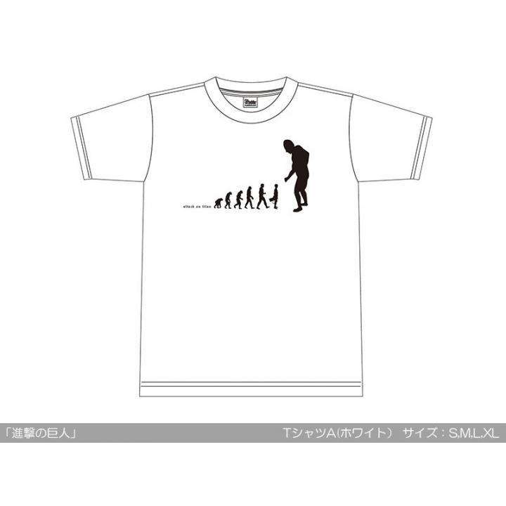 進撃の巨人 TシャツA サイズ:M_0
