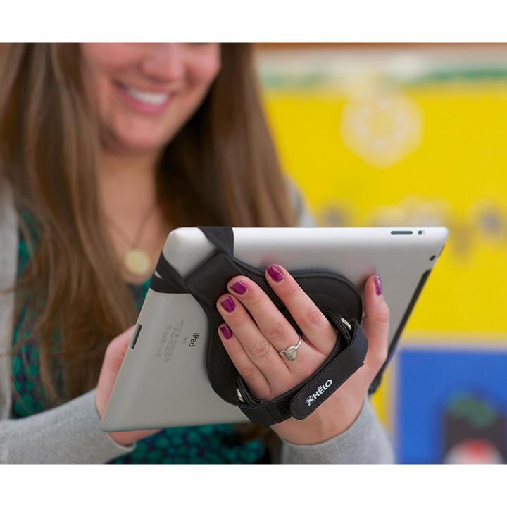 タブレットを片手持ち Tablet Strap 360 by HELO Strap(ナイロン)