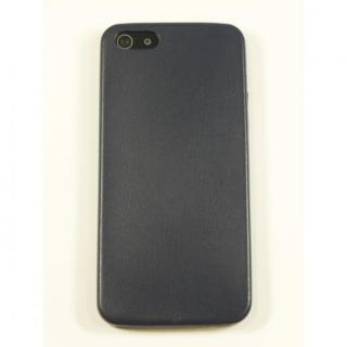 【iPhone SE/5s/5ケース】極薄1.3mmPUレザーケース Zula ネイビー iPhone SE/5s/5ケース_1