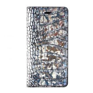 iPhone6 ケース GAZE 手帳型ケース クロコダイル(ホログラム) iPhone 6ケース