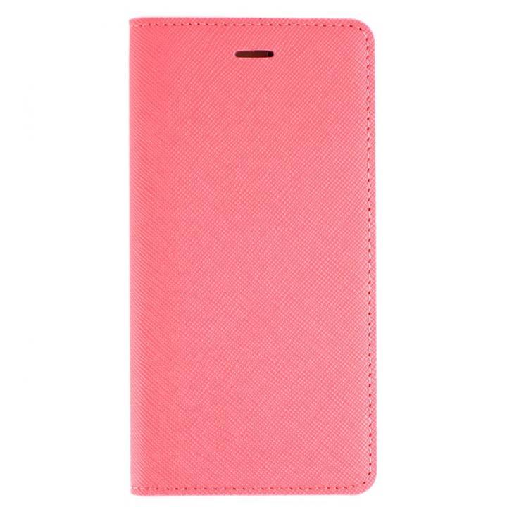 サフィアーノ 手帳型ケース  ベビーピンク iPhone 6ケース