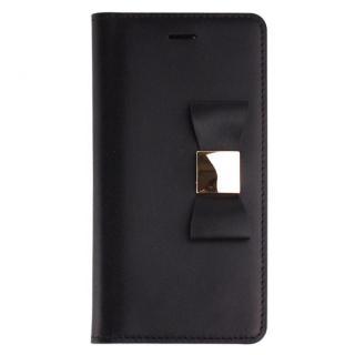 リボンクラシック 手帳型  ブラック iPhone 6s/6ケース