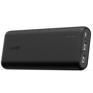 [夏フェス特価][20100mAh]Anker PowerCore 2ポート4.8A出力 モバイルバッテリー ブラック【7月下旬】