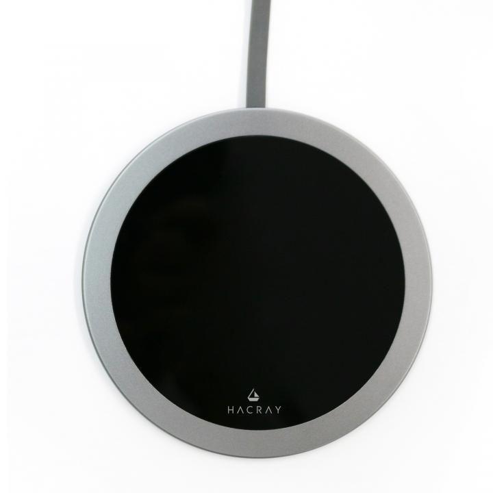 Super Slim Qi ワイヤレスチャージング Plate ガンメタル_0