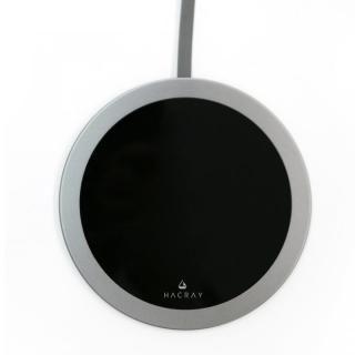 Super Slim Qi ワイヤレスチャージング Plate ガンメタル