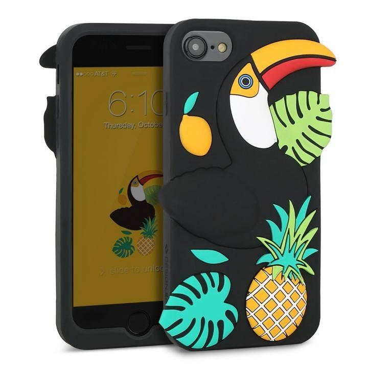 【iPhone8/7/6s/6ケース】WITTY LOOK シリコンケース トゥカン iPhone 8/7/6s/6_0