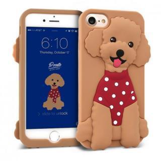 【iPhone8/7/6s/6ケース】WITTY LOOK シリコンケース プードル iPhone 8/7/6s/6
