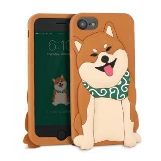 【iPhone8/7/6s/6ケース】WITTY LOOK シリコンケース シバ iPhone 8/7/6s/6【12月下旬】