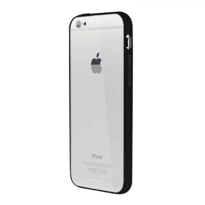 【iPhone6ケース】Aircraft Clear ブラック iPhone 6バンパー_0