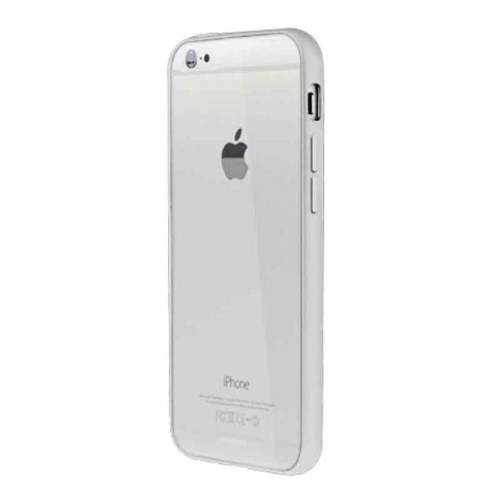Aircraft Clear シルバー iPhone 6バンパー