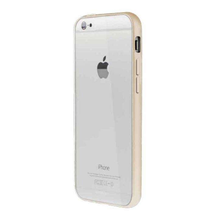 【iPhone6ケース】Aircraft Clear ゴールド iPhone 6バンパー_0