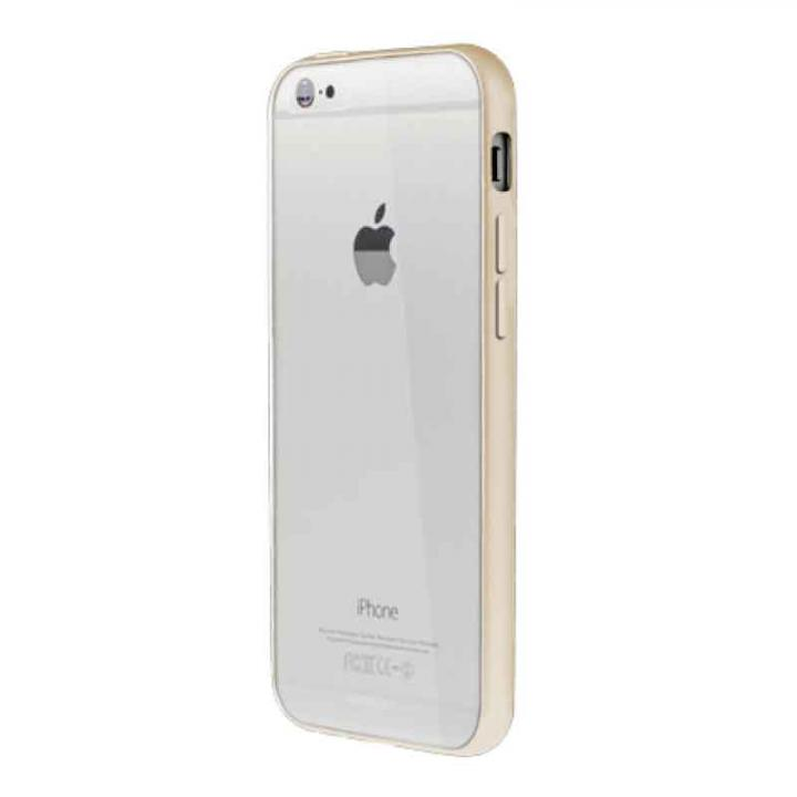 iPhone6 ケース Aircraft Clear ゴールド iPhone 6バンパー_0