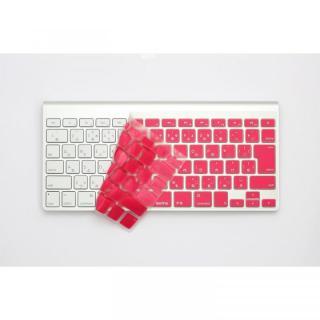 キースキン MacBook Air 13 & Pro Retina用 キーボードカバー ピンク