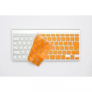 キースキン MacBook Air 13 & Pro Retina用 キーボードカバー オレンジ