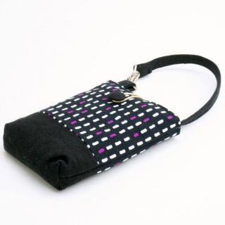 【その他のiPhone/iPodケース】レトロ小紋 携帯ケース 雨縞