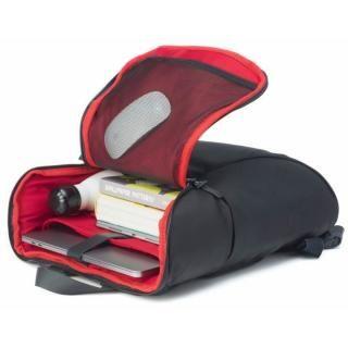 軽量ラップトップバックパック booq Daypack 19L ブラック/レッド_1