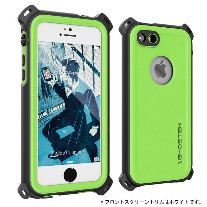 iPhone SE/5s/5 ケース 防水/防雪/防塵/耐衝撃ケース IP68準拠 Ghostek Nautical グリーン iPhone SE/5s/5_0