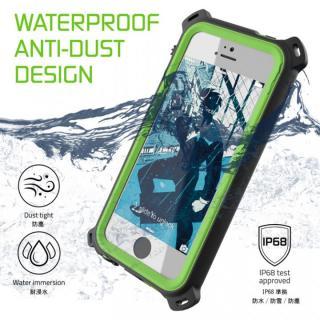 【iPhone SE/5s/5ケース】防水/防雪/防塵/耐衝撃ケース IP68準拠 Ghostek Nautical グリーン iPhone SE/5s/5_4