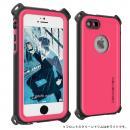 防水/防雪/防塵/耐衝撃ケース IP68準拠 Ghostek Nautical ピンク iPhone SE/5s/5