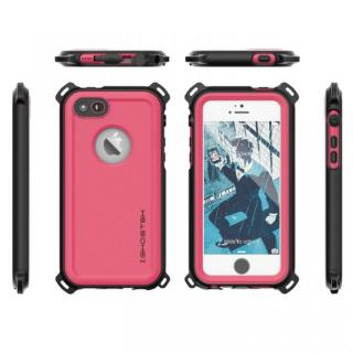 【iPhone SE/5s/5ケース】防水/防雪/防塵/耐衝撃ケース IP68準拠 Ghostek Nautical ピンク iPhone SE/5s/5_1