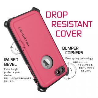 【iPhone SE/5s/5ケース】防水/防雪/防塵/耐衝撃ケース IP68準拠 Ghostek Nautical ピンク iPhone SE/5s/5_3