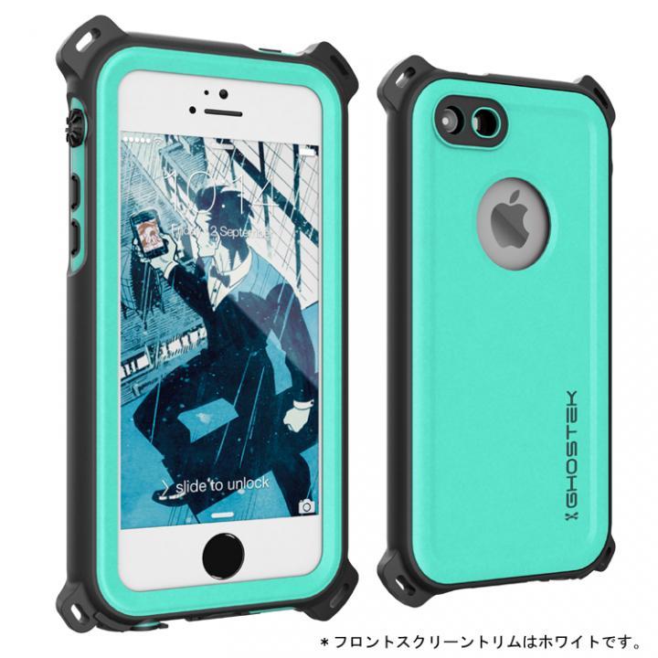 iPhone SE/5s/5 ケース 防水/防雪/防塵/耐衝撃ケース IP68準拠 Ghostek Nautical ブルー iPhone SE/5s/5_0