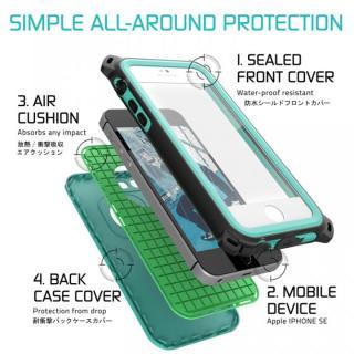 【iPhone SE/5s/5ケース】防水/防雪/防塵/耐衝撃ケース IP68準拠 Ghostek Nautical ブルー iPhone SE/5s/5_2
