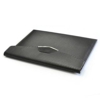 monCarbone カーボンファイバー スリーブ Sleek Elite 12.9インチ iPad Pro