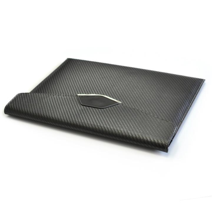 monCarbone カーボンファイバー スリーブ Sleek Elite 9.7インチ iPad Pro_0