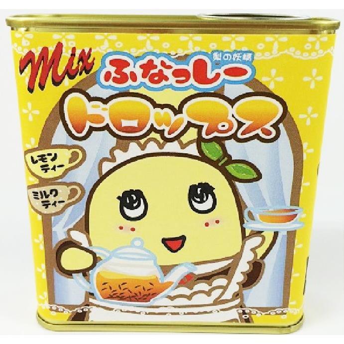 ふなっしー Mixドロップス ミルクティー&レモンティー_0